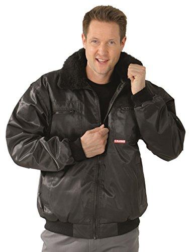 Planam 0358 Gletscher Comfort Jacke, in vielen Farben, auch Übergrößen (XL, schwarz)