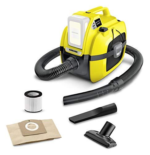 Kärcher Akku-Mehrzwecksauger WD 1 Compact Battery (Leistung: 230 W, Behältergröße: 17 Liter, Blasfunktion, Saugen ohne Filterwechsel, kompakte Bauweise, ohne Akku)