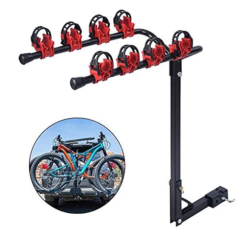 Porta Bicicleta para Coche, Cinchas para portabicicletas, Soporte Bici Universal, Portabicicletas Trasero,...