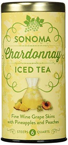 The Republic of Tea Sonoma Chardonnay Iced Tea, 6 Large Iced Tea Pouches / 6 Quarts