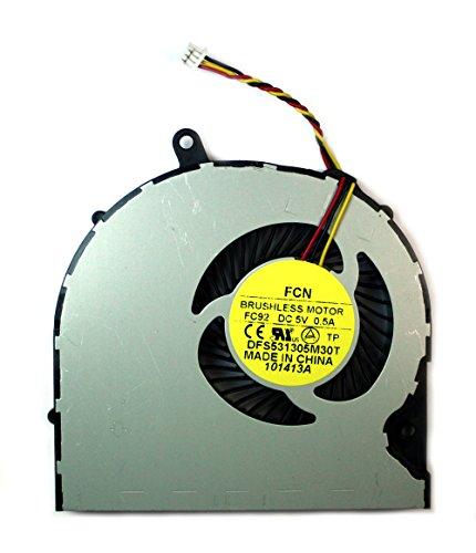 Power4Laptops Ventilador para Ordenadores portátiles Compatible con Toshiba Satellite P50-C-11K