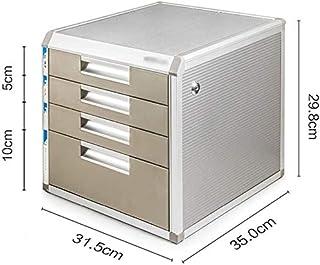 Classeurs Business Desktop Quatre Tiroirs Bureau de données Organisateur de Bureau Panier fichier Armoire de Rangement de ...