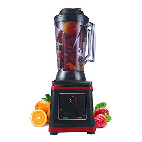 Blender voor koken en smoothies, gemakkelijk schoon te maken, professionele blender inclusief glazen pot van hoge kwaliteit met verwarmingselement
