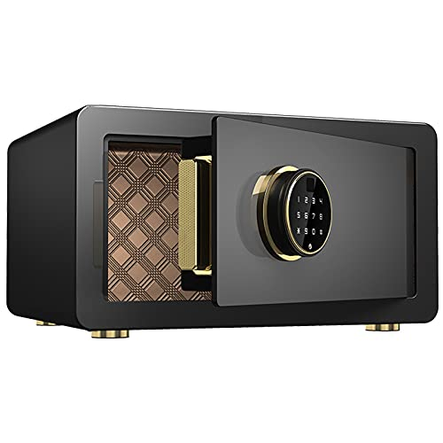 DAPAO Safe Box, Home Digital Safe, Mini Safe, Used for Office, Dormitory, Password Unlocking/fingerprint Unlocking(43x35x23cm)