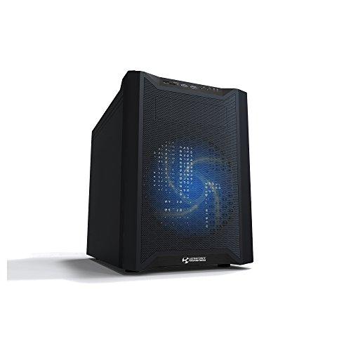 ULTRAFORCE Monster M2, Micro ATX Gaming Gehäuse, Lüftersteuerung, LED Beleuchtung