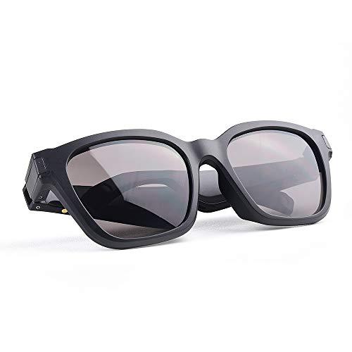 Staright F002 Gafas de Sol Inteligentes Auriculares inalámbricos Bluetooth 5.0 Anti Blue-Ray Gafas Protectoras Auriculares de música Manos Libres con micrófono para Montar, Conducir, Pescar, Correr,