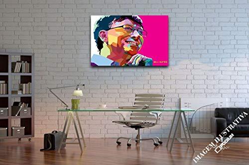 Quadro Decorativo Parede Bill Gates