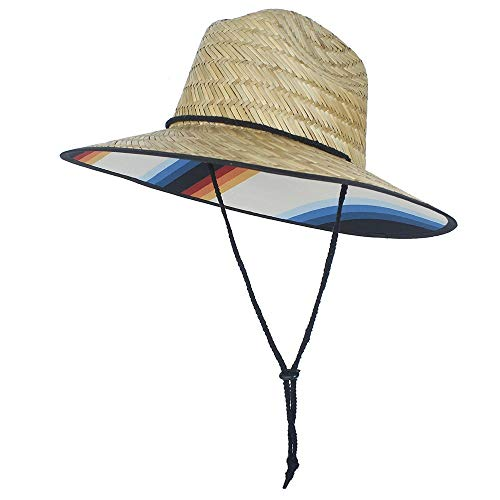 Brixton Bells Lifeguard Straw Hat Women Men Hats summer hat sun Safari