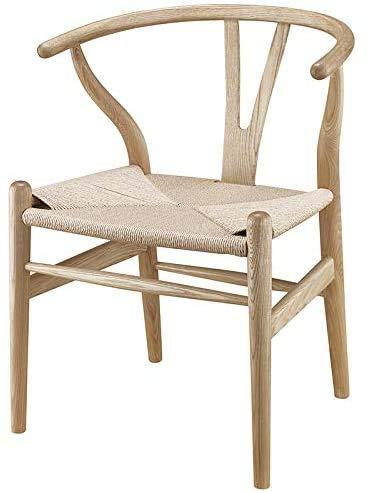 CHAIR Holz Wishbone Stuhl Y Stuhl Massiv Esche Holz Esszimmermöbel Esszimmerstuhl Sessel Klassisches Design