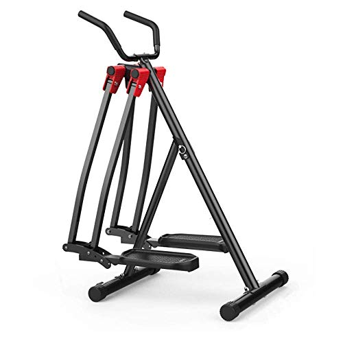 Sporting Advanced Cyclette Trainer Fitness Cross Trainer, Cyclette, Movimento oscillante verticale e orizzontale per l'esercizio Allenatore cardio ideale (Colore : Nero, Dimensioni : Formato libero) L