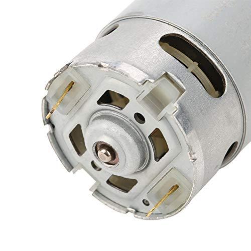 Motor de CC de Alta Velocidad con Motor de Engranajes de 9 Dientes de Alta precisión para Taladro eléctrico