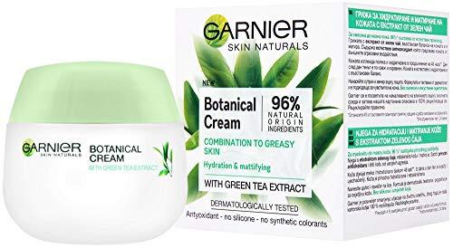 Garnier Skin Naturals Crema facial botánica con té verde para combinación a piel grasa 50ml