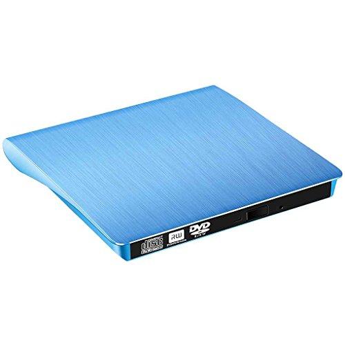 Guangcailun External Slim USB 3.0 DVD-ROM Optical Drive CD DVD ROM Disk Reader Player for Desktop PC Laptop Tablet Promotion