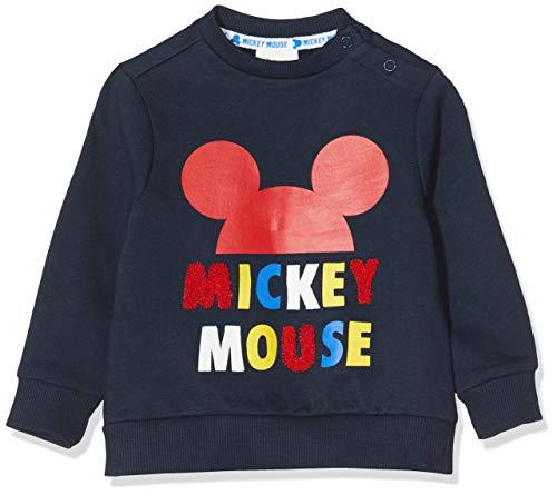 ZIPPY Sudadera Mickey SS20, Dress Blue 19/4024 TC, 9/12M para Bebés