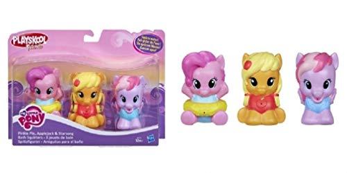 Playskool Friends My Little Pony Pack 3 Jouets de Bains pour Bébé Mon Petit Poney