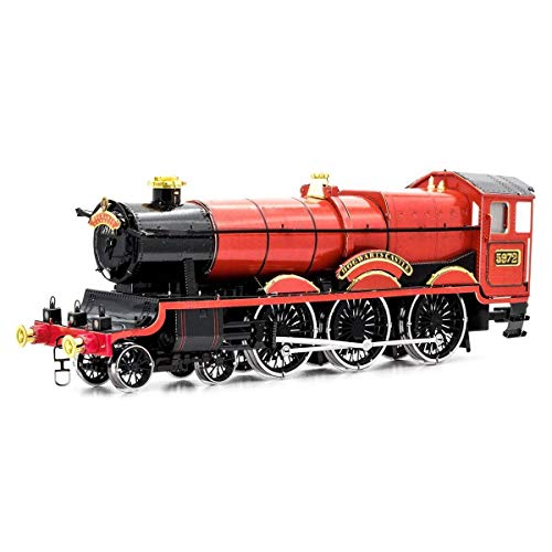 3D Fascinations Metal Earth Puzzle - Harry Potter, ICONX Hogwarts Express Train ICX137 - DIY 3D Model Kit / Metal Jigsaw Puzzle - NEW MODEL.