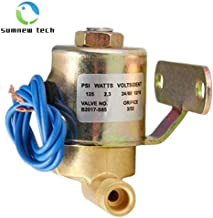 4040 Solenoid Valve for Aprilaire by Sumnew Teach, Humidifier Replacement Unit, 24 V, 60 Hz AC, 125 PSI, Humidifier Model 400, 500, 600, 700, Replaces OEM valves