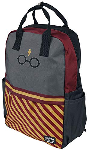 Loungefly x Harry Potter Glasses Stripes Mochila para portátil