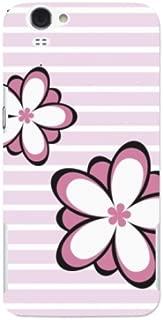 docomo AQUOS PHONE ZETA(SH-01F) 花柄02 スマホケース スマホ ケース ハード カバー ポリカーボネート q0372-f0051(1-ピンク)