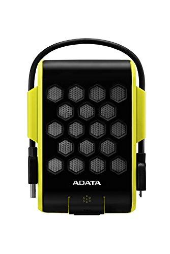 Disques durs externes ADATA HD720(Filaires, 5-50°C, USB 3.0(3.1) Type-A, Disque Dur, résistant à la poussière, aux Chocs, à l'eau) Extérieur 1 to Jaune