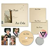 SEVENTEEN 3rd Album - AN ODE [ The Poet ver. ] CD + Photobook + Mini Photobook + Photocard + FREE GIFT / K-pop Sealed