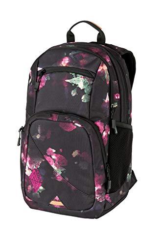 Nitro Stash 24 Rucksack, Schulrucksack, Schoolbag, Daypack, Black Rose, 35L