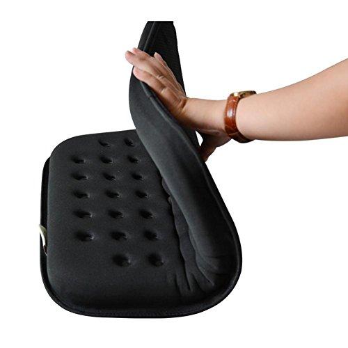 HRRH Anti-Dekubitus-Kissen Orthopädische Gel-Enhanced Comfort Foam Sitzkissen Gel Kissen Druckentlastung Sitz Breathable Rollstuhl Sitzkissen Office Sitzkissen