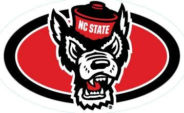 5 Inch Mr. Wuf North Carolina NEW before selling ☆ Wolfpack NC University NCSU A surprise price is realized State