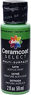 Plaid:Delta Ceramcoat Select Multi-Surface Paint 2Oz Lime Green by Plaid Delta