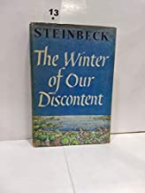 John Steinbeck THE WINTER OF OUR DISCONTENT The Viking Press 1961 Book Club Ed