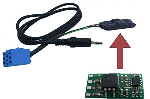 AUX Line In Adapter MP3 CD Wechsler 8-Pin Pol für Radio VW Gamma Beta Alpha MCD