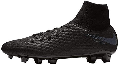Nike Unisex-Erwachsene Hypervenom Phantom III Academy DF FG Sneakers, Schwarz (Black/Black 001), 42.5 EU