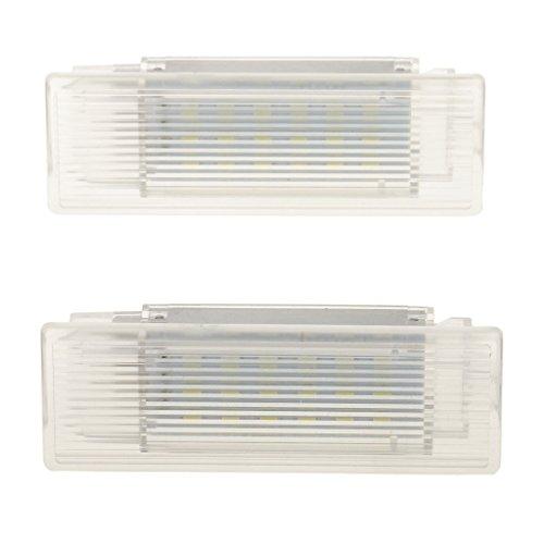 H HILABEE 2x Luz de Maletero de Equipaje Interior de Coche de 18 LED para F10 M5 F11