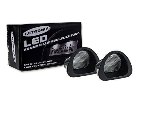 LETRONIX SMD LED Kennzeichenbeleuchtung Module geeignet für C1 2005-2013/107 2005-2014 mit E-Prüfzeichen