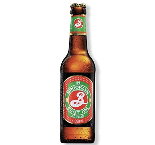 Brooklyn East IPA aus den USA IPA mit 6,9% Alc. wir führen dieses Set in 6,12 und 24 Flaschen (24)