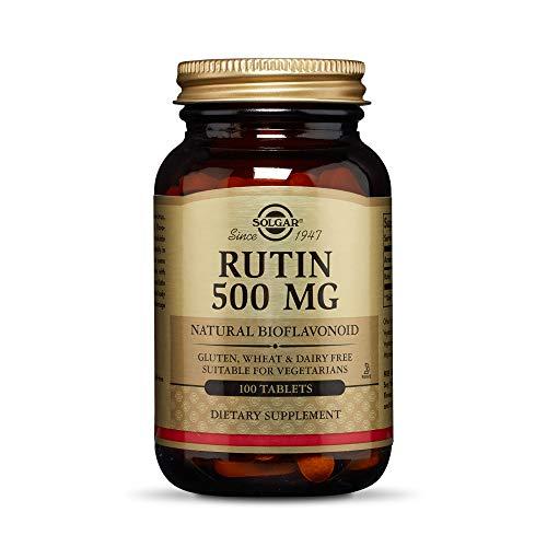 Solgar Rutina 500 mg Comprimidos - Envase de 100