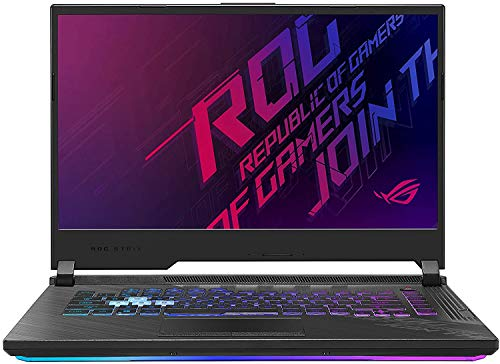 "ASUS ROG Strix Scar III G531GW Gaming Laptop (Intel i7-9750H, 32GB RAM, 1TB NVMe SSD + 1TB HDD, NVIDIA GeForce RTX 2070 8GB, 15.6"" Full HD IPS 240Hz 3ms, Windows 10 Home) Gamer Notebook Computer"