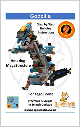 Godzilla: Model and project for Lego Boost (English Edition)