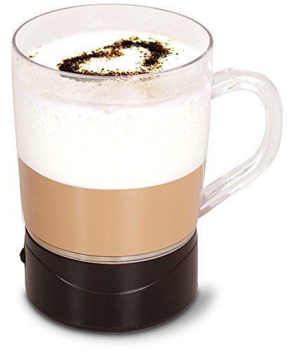Team-Kalorik-Group TKG MFH 1000 Selbstumrührender Becher inklusive Rezepte für köstlichen Kaffee