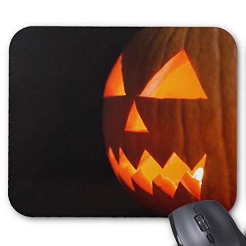 Lustige süße Maus Matte Jack die Laterne Halloween Kürbis Maus Pad