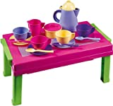 Androni 2920 Mini Tavolo con Coffe-Set, 41x10x24,5 cm, Multicolore