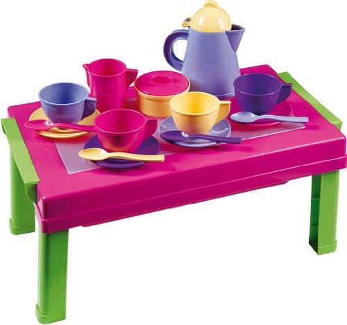 Androni 2920 Mini Tavolo con Coffe-Set,  41x10x24,5 cm, Multicolore