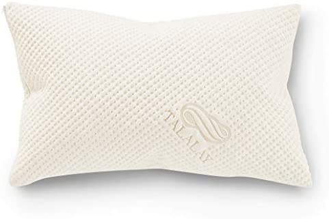 Pure Talalay Bliss Latex Foam Pillow Breathable Bamboo Cover Shapeable Shred Queen Low Profile product image