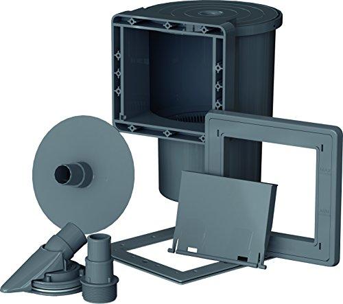 Gre AR100G - Skimmer für die Pool-Standard + Ventilantrieb, Farbe grau