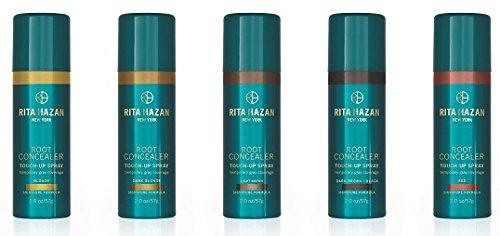 Rita Hazan Root Concealer Touch Up Spray, Dark Brown Cover up Gray, 2 oz