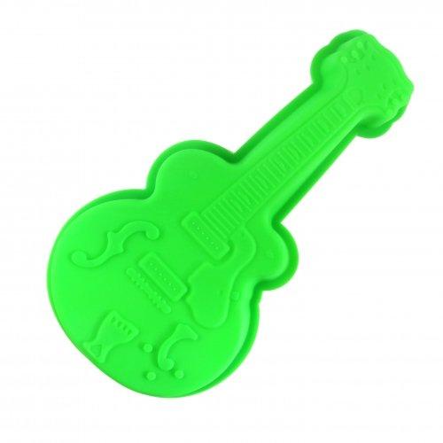 Pando rtex silicona molde de guitarra para tartas