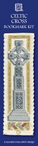 Textile Heritage Celtic Cross Counted Cross Stitch Bookmark Kit