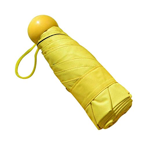 Ombrello Da Pioggia Compatto Pieghevole, 11 Costole Ombrello Da Viaggio Portatile Con Funzione Di Protezione Solare, Ombrello In Tessuto Idrorepellente Ad Alta Densità Antivento For Uomo Donna Ombrell