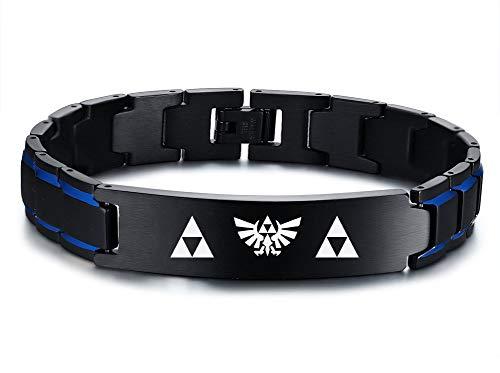 VNOX Acero Inoxidable La Leyenda Zelda Símbolo Amuleto