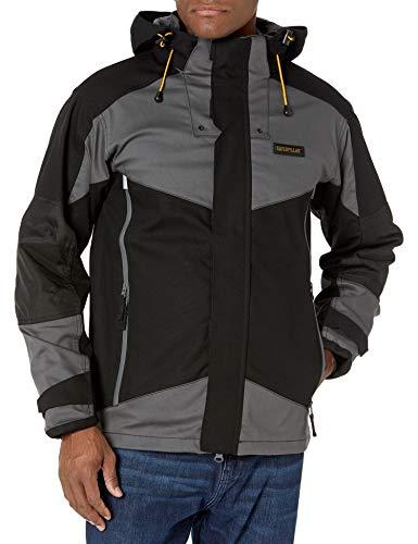 Caterpillar Men's Triton Waterproof Jacket, Black, XXXL